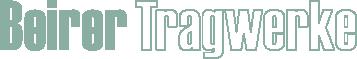 BEIRER TRAGWERKE Logo